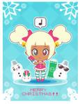 Xmas-Chan Christmas Card ::GIFT::