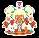 Xmas Chan Gingerbread