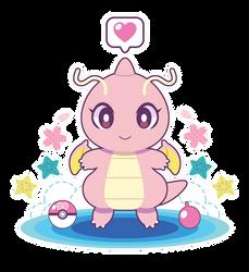 Sakura Dragonite ::GIFT:: by Itachi-Roxas