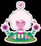Chibi Pink Diamond by Itachi-Roxas