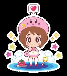 Ochako x Kirby Lolita