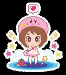 Ochako x Kirby Lolita by Itachi-Roxas