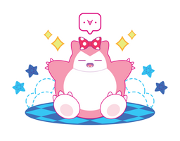 Pink Dream Snorlax ::GIFT::