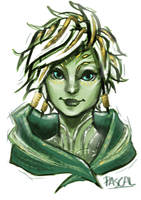 Caithe (A character from Guild Wars 2) by potato1314