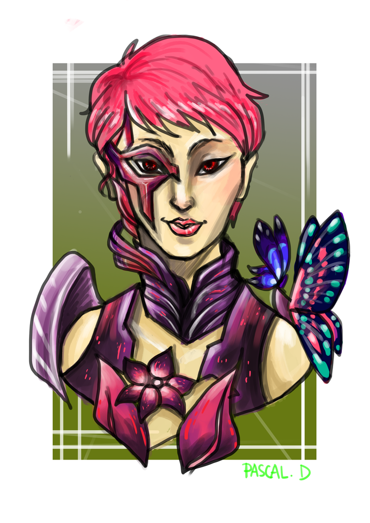 Ivy (Another GW2 Fanart) by potato1314