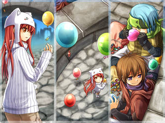 . Candy Rain . by nuriko-kun