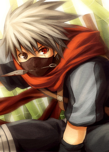 Young Kakashi by nuriko-kun