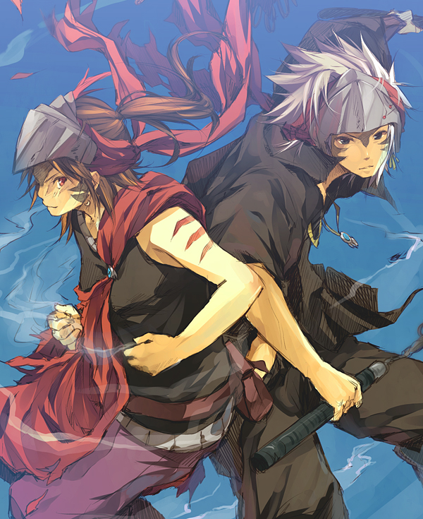 Kite and Raven by nuriko-kun