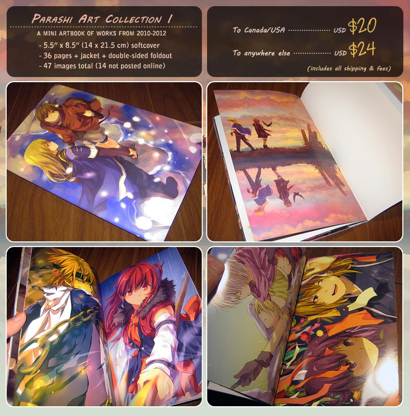 Parashi Artbook by nuriko-kun
