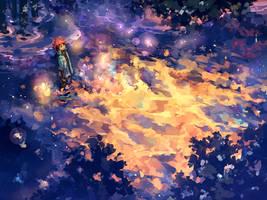 The boy who chased fireflies by nuriko-kun