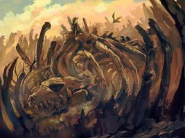 The Scavenger Cat by nuriko-kun