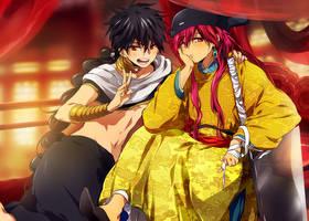 Magi - the new emperor :P by nuriko-kun