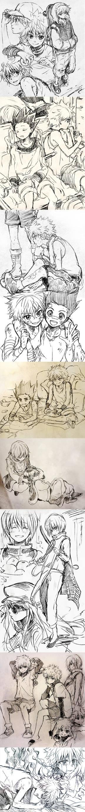 HxH sketches