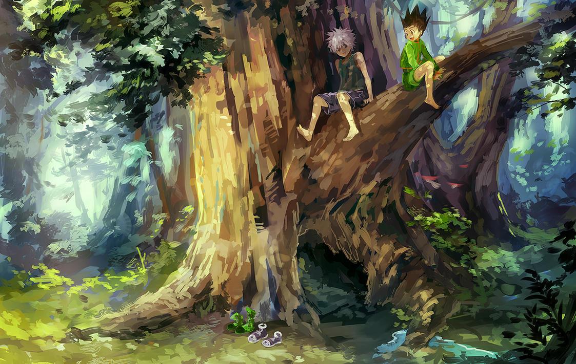 HxH - Backwoods by nuriko-kun