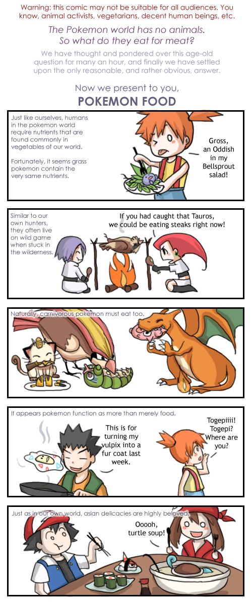 YLYL you laugh you lose Pokemon_Food_by_nuriko_kun