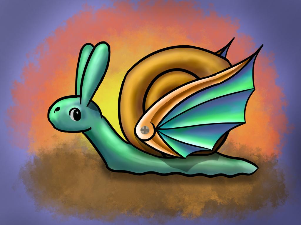 Snail by Carptalk369