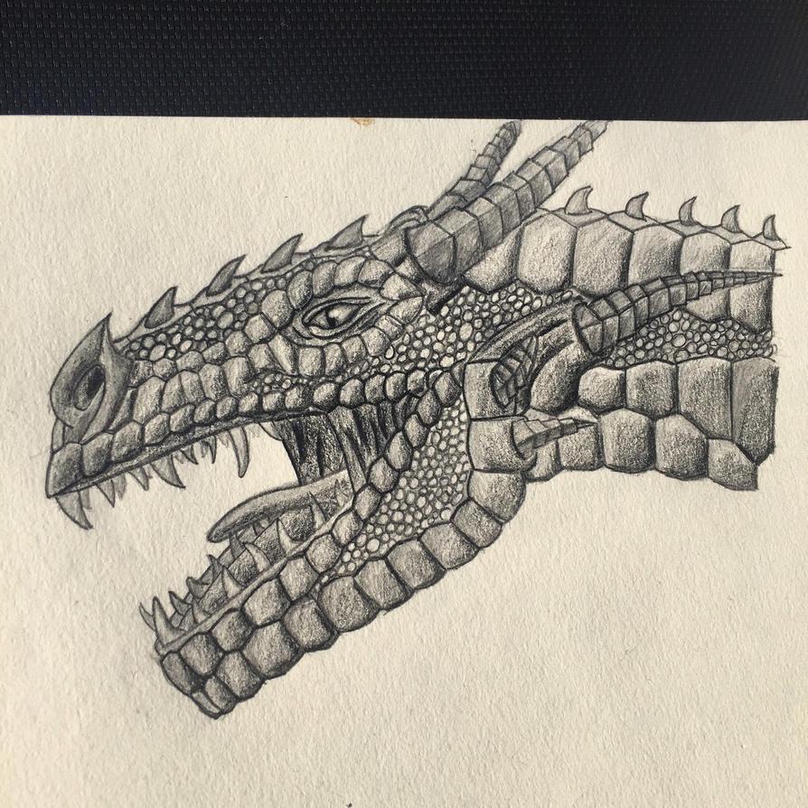 Dragon head by Carptalk369