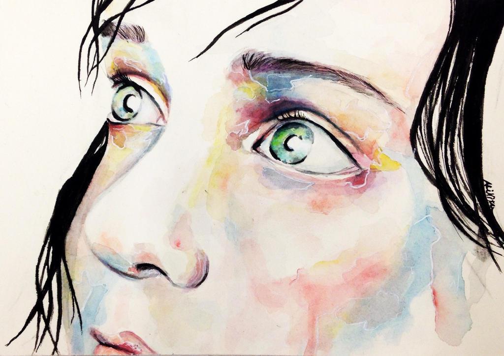 Hope lies within my eyes by Ali-Nita