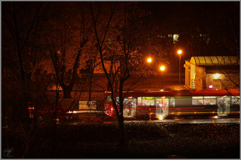 Night Outside My Window 05 By Ferobanjo