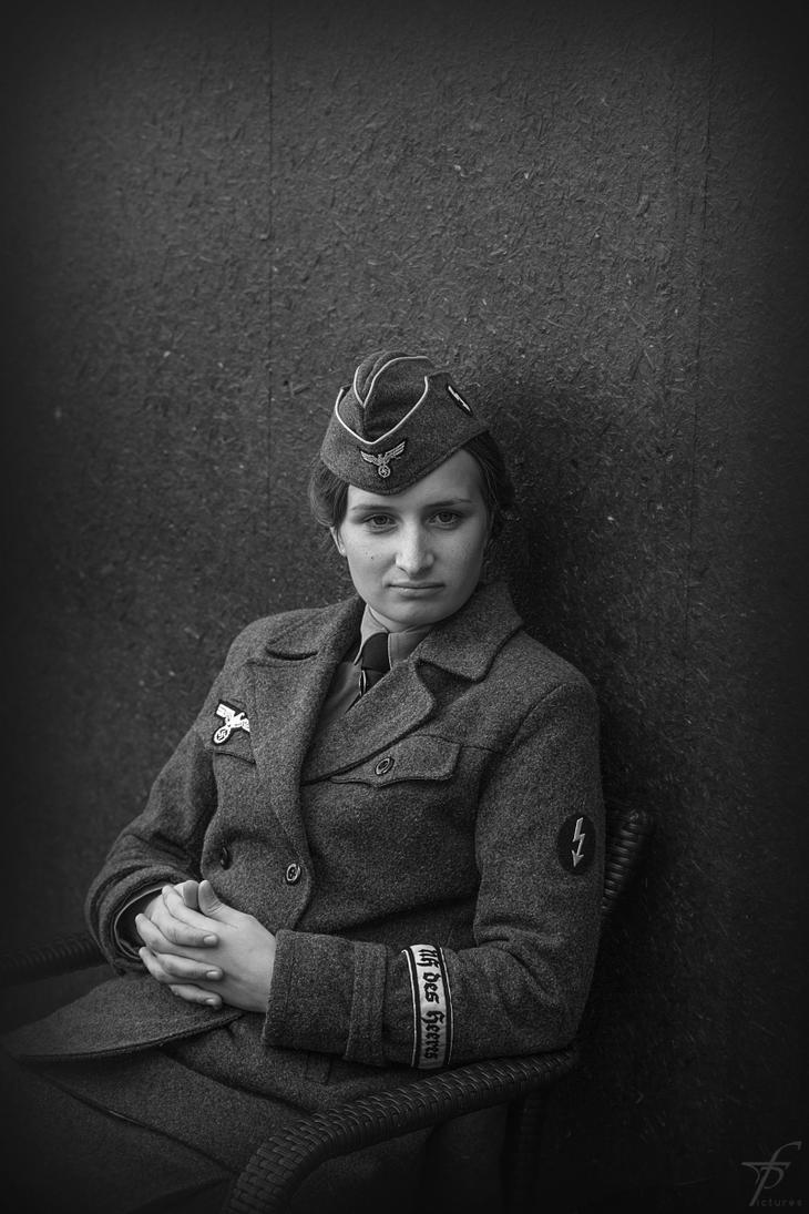 Woman in World War II by ferobanjo