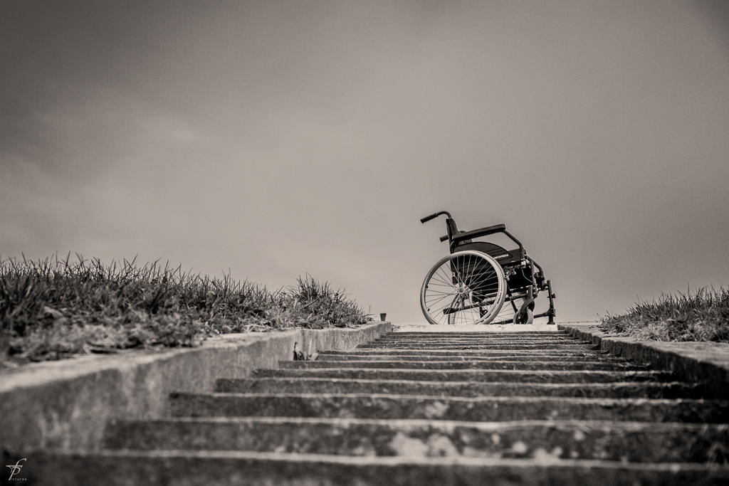 Lonely Wheelchair - The Last Outing 8 by ferobanjo