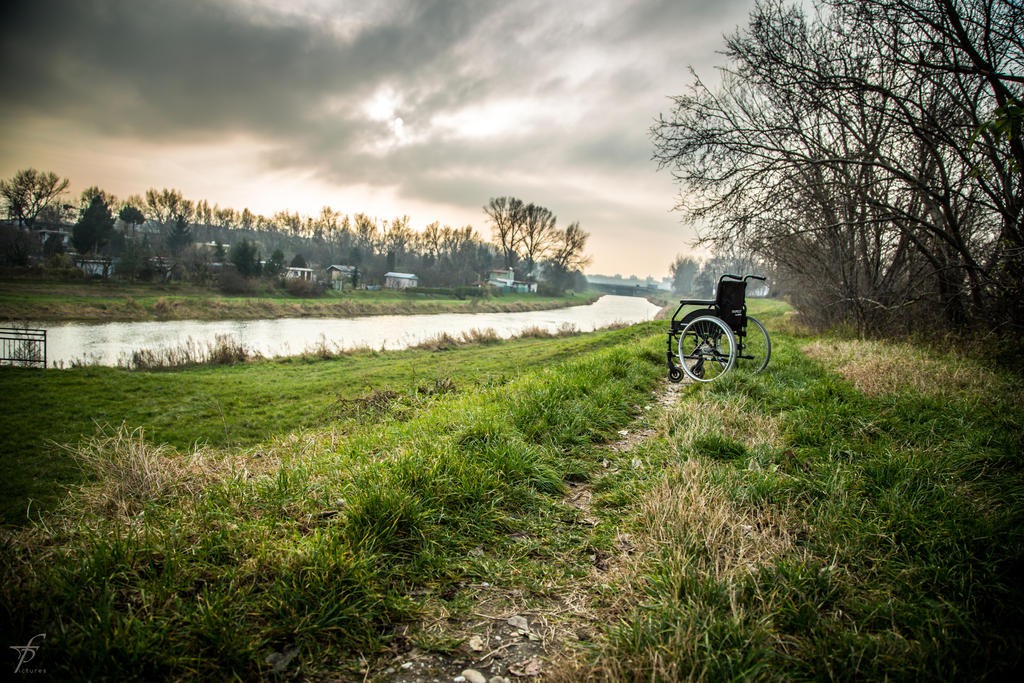 Lonely Wheelchair - The Last Outing 9 by ferobanjo