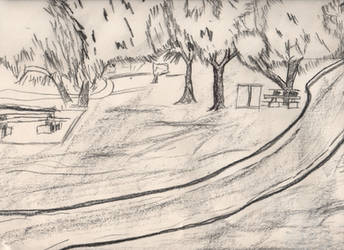 Charcoal Park by knightr33