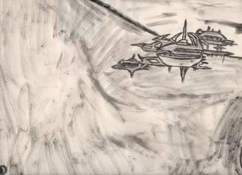 Object in space by knightr33