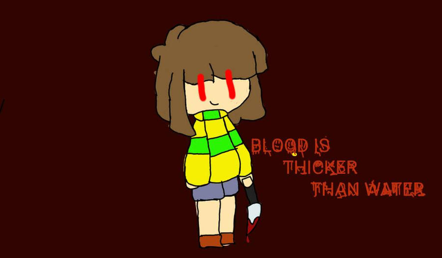 Chara ~Undertale by Severedtail