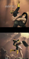 Wonder Woman bearhug_The Messiah  from Themyscira by bodyscissorfan