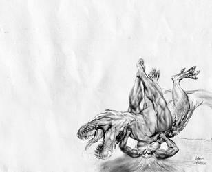 Extinction Level 'Body Scissor' by bodyscissorfan