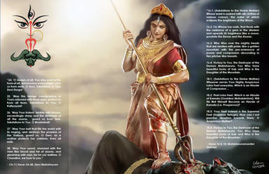 Jai Maa Durga by bodyscissorfan