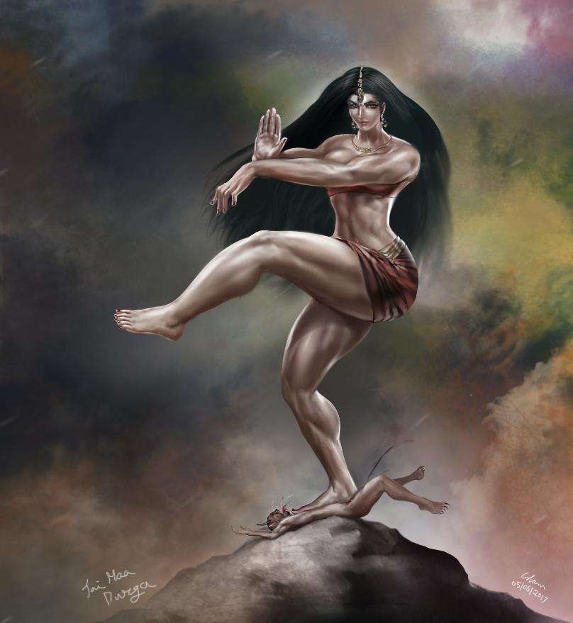 Durga Tandav by bodyscissorfan
