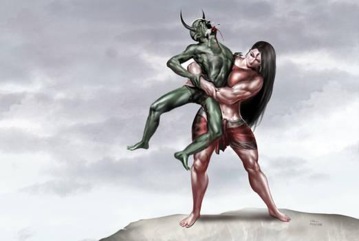 Slaying of Bhandasura