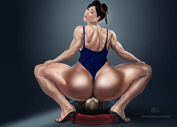 Chun Li by bodyscissorfan