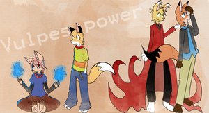 Vulpes Galore by Anthrolicious