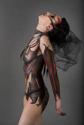 Black Fashion III by Amellya
