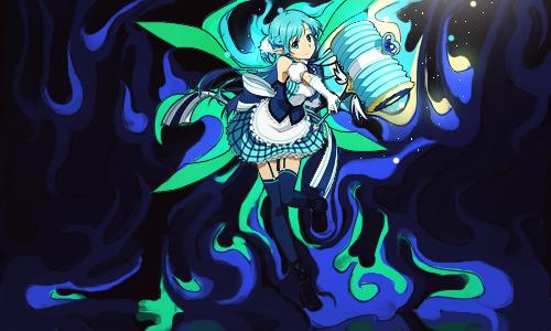Asuna in Blue by H0zen
