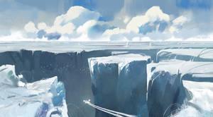 Glacier by Orelf