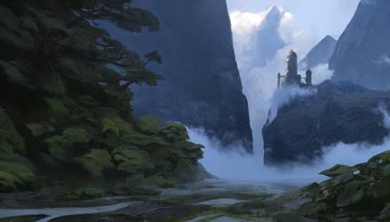 Castle by Orelf