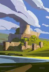 Castle Fb Low by Orelf