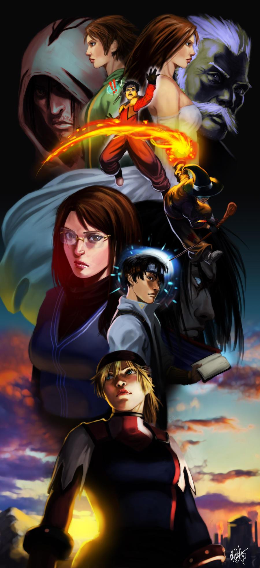 Lost Kids by Kasai by FelipeCagno