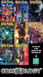 Lost Kids on Comixology! by FelipeCagno