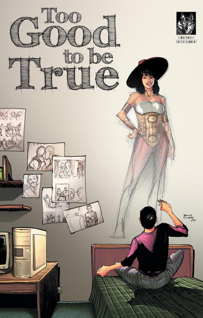New graphic novel on Kickstarter! by FelipeCagno
