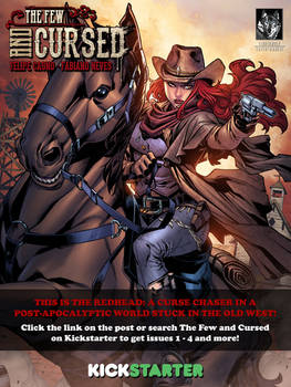 The Few and Cursed #4 is now LIVE on Kickstarter!