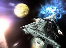 space ship by ashasylum