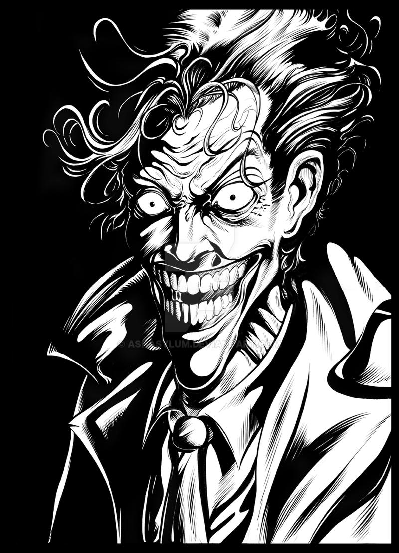 joker by ashasylum on DeviantArt