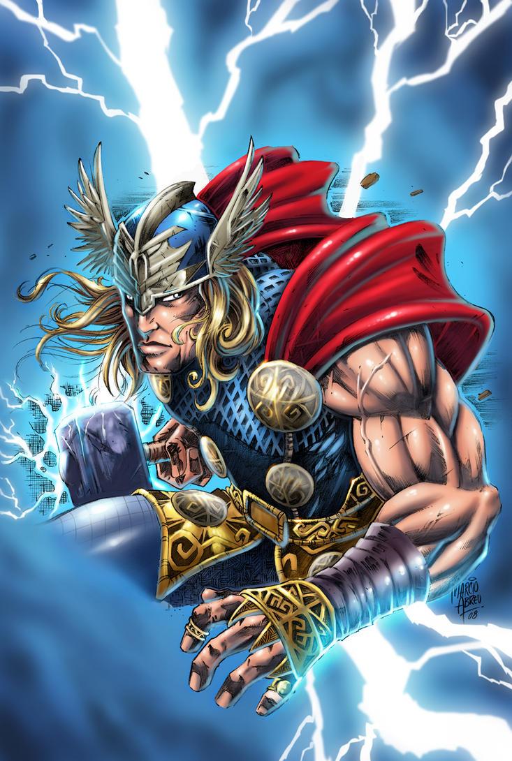 Imagenes de Calidad (no-anime) Thor_by_ashasylum