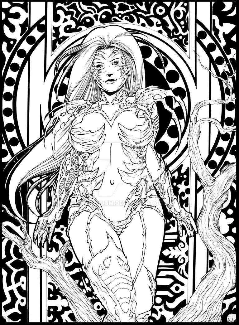 witchblade by ashasylum