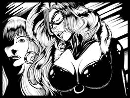 black cat and mary jane